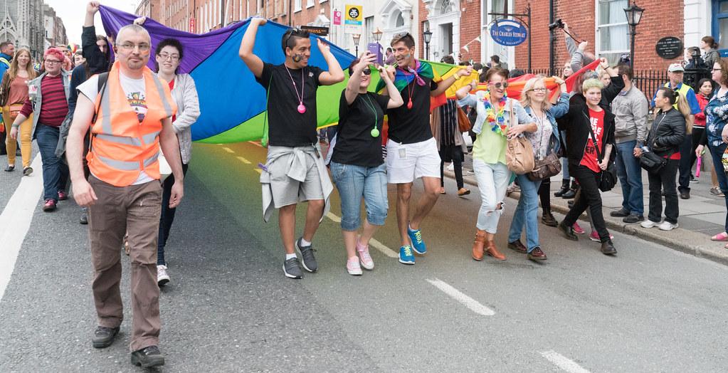 PRIDE PARADE AND FESTIVAL [DUBLIN 2016]-118061