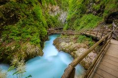 Vintgar Gorge (billydorichards) Tags: slovenia adventure landscape alpine travel nature scenic mountains alps vintgargorge vacation canon1635mmf4l summerholiday canon6d podhom radovljica si