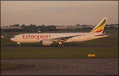 ET-AQL Boeing 777-260LR Ethiopian Airlines (elevationair ) Tags: dublinairport dub eidw airliners boeing 777 772 boeing777260lr etaql et500 dublinwashington sunrise dawn daybreak earlymorningsun ethiopianairlines ethiopian