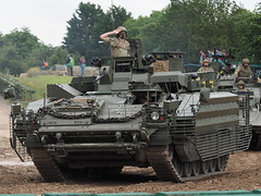 Warrior 513 (RRV) Repair & Recovery Vehicle (Megashorts) Tags: olympus omd em1 mzd 40150mm f28 pro war military armoured armour armor armored fighting bovington bovingtontankmuseum tankmuseum bovingtonmuseum tank museum thetankmuseum england dorset uk tankfest 2016 tankfest2016 warrior 513 rrv repair recovery vehicle british army show