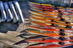 Djurgrden, Stockholm (Sunday Money) Tags: boats sweden stockholm canoes scandinavia kayaks