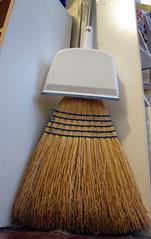 Broom. (dccradio) Tags: nc northcarolina whitebackground sweep broom lumberton dustpan