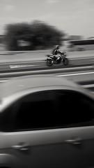 "Death Race (Jackie ""jubercar_78"" Gate) Tags: blancoynegro streetphotography monocromtico barrido fotografaurbana"