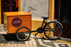 Retro Bicycle  Streetseller .. (miguel.santos.1029) Tags: old bicycle streetphotography retro seller streetseller azores pontadelgada louvremichaelense louvremicaelense
