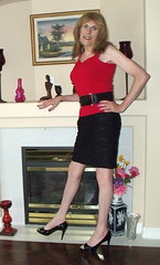 June 2016 (45) (Rachel Carmina) Tags: tv legs cd tgirl tranny transvestite heels crossdresser trap tg femboi