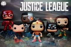 Justice League's Trailer is out! Who's excited??? (PrinceMatiyo) Tags: jasonmomoa henrycavill galgadot popvinyl funko justiceleague aquaman cyborg theflash dccomics wonderwoman batman superman