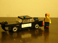 I smell bacon (brick syndicate) Tags: car lego brothers blues police advanced 714 legopolicedept