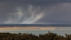 April Showers! IMG_0480 (s0ulsurfing) Tags: s0ulsurfing 2016 isle wight coast coastal coastline weather clouds solent hurst lighthouse castle rain showers