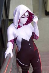 Spidergwen (2) (Dezmin) Tags: man photography spider cosplay spiderman marvel gwen lilium slippery supanova spidergwen