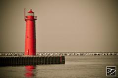 Muskegon South Pierhead 1 (dmdiener) Tags: lighthouse 1 michigan south dennis pierhead muskegon 2011 diener