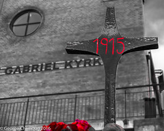 Assyrian genocide memorial (georgechamoun1984) Tags: church gteborg sweden gothenburg sverige christianity assyrian armeniangenocide suryoyo seyfo assyrianorthodox assyriangenocide