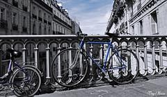 juste bleu - just blue (png nexus) Tags: street blue bleu desaturation rue