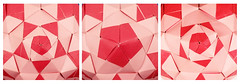 Oreads var. (masha_losk) Tags: paper origami squares symmetry foliage folded paperfolding modularorigami origamistar kusudama unitorigami оригами кусудама бумага origamiart модульноеоригами origamiwork