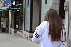 We can tell it was such a windy day but your hair were still on point (rubisannesirois11) Tags: brown canada hair friend quebec windy oldquebec strolling inthecity lightbrown