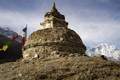 Ancient stupa (Adept Photography) Tags: nepal stupa monastery nepalese yaks everest himalayas 2016 tengboche stupas