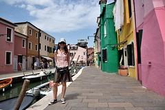 A Venezia (Burano) () Tags: venice italy colors italia venezia colori burano 2016