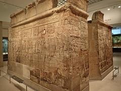 Shrine of the 25th dynasty pharaoh and Kushite King Taharqa  Egypt 7th century BCE (mharrsch) Tags: architecture temple worship shrine god unitedkingdom religion goddess egypt oxford 7thcenturybce myth basrelief ashmoleanmuseum taharqa lateperiod 25thdynasty mharrsch