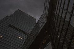 i added some grain in lightroom! (@wawaweewa) Tags: reflection building geometric lines architecture skyscraper germany minolta cloudy frankfurt sony grain perspective bank lookup architektur grainy ffm mirroring mainhattan dzbank rokkor sonyalpha minoltarokkor sonyminolta sonya7 sonyemount sonyrokkor