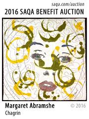 Chagrin by Margaret Abramshe (saqaart) Tags: artquilts saqa fiberart quilts textiles artwork stitched layered