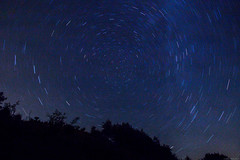 Startrail (carlo.goweather) Tags: star rotation canon canon100d canoneos100d startrail korada slovenia gorizia nature