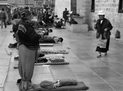 pilgrims (Jamie B Ernstein) Tags: tibet lhasa china monochrome blackandwhite nikon asia street jokhang pray pilgrims devotion