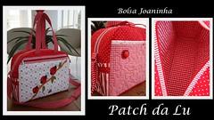 Bolsa Joaninha (Patch da Lu) Tags: bag bolsa joaninha maternidade