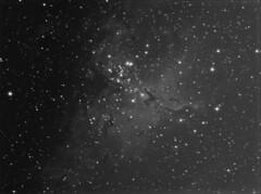 M16 Eagle Nebula (chris_swatton) Tags: m16 eagle nebula paramount mx software bisque mount computerised megamount rob miller tripod tri36m equatorial robotic tmb130ss tmb apo triplet f7 130mm signature series atik 314l lrgb filterwheel oag lodestar autoguider auto guider fareham hampshire garden star stars night sky photography astrophotography astronomy uk england Astrometrydotnet:version=14400 Astrometrydotnet:id=alpha20130580480033 Astrometrydotnet:status=solved