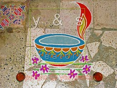 JC040095 (yogesh s more) Tags: blue red orange india color green texture colors lines yellow stone religious soft pattern graphic drawing stones background religion shapes culture ground powder line celebration forms maharashtra form tradition shape diva celebrate pound pune rangoli pounding diya panati payacom