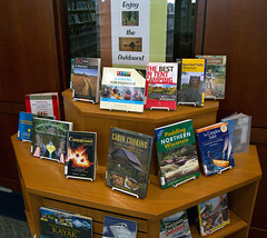 Enjoy the Outdoors (Lester Public Library) Tags: book library books librarian librarians publiclibrary lpl publiclibraries libslibs librariesandlibrarians bookdisplay 365libs lesterpubliclibrary readdiscoverconnectenrich wisconsinlibraries lesterpubliclibrarytworiverswisconsin