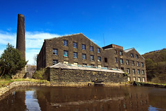 Cellars Clough Mill (Saturated Imagery) Tags: mill canal yorkshire dslr huddersfield millpond marsden colnevalley huddersfieldnarrowcanal sigma1020mmf35 canoneos60d photoshopelements9