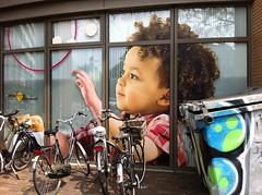 Bicycle II (Peter Schler) Tags: bicycle child ad kind werbung zwolle gelderland