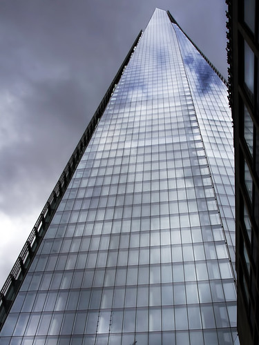 The Shard - Dark skies