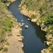 Il fiume stretto entra nel canyon di Somoto