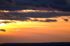 121208_1554_0015 (Chungking Express) Tags: sunset sun wisconsin clouds nikon greenbay 300mmf4 peninsulastatepark lightroom3 d7000