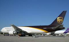 N344UP (Martin J. Gallego) Tags: madrid ups boeing freighter barajas planespotting b767 lemd boeingb767 b767f n344up
