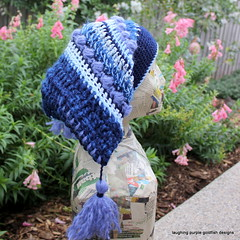 Hats for Beanie Festival (laughingpurplegoldfish) Tags: hat fun crochet freeform