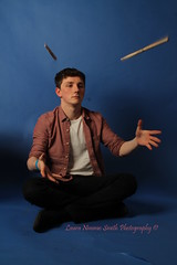 Photoshoot with Cam (LauraNimmoSmithPhotography) Tags: portrait music motion college studio drums photography movement model portraiture drummer midair drumsticks snare