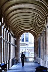 Architecture in Bordeaux, France (NeilHallPix) Tags: man france architecture walking french bordeaux arches archway