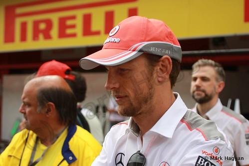 Jenson Button at the 2013 Spanish Grand Prix