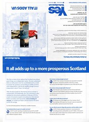 YesScotland leaflet, May 2013 (Scottish Political Archive) Tags: yes leaflet referendum campaign yesscotland 2014referendum