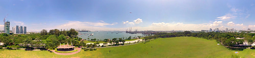 360° Panorama View of West Coast Park, Singapore