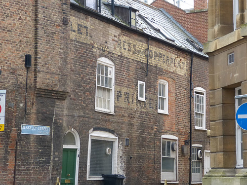 Ghost Sign - Gloucester, Berkeley Street 130326