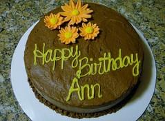 Flower  cake by Jen A Birthday Cakes 4 Free Santa Cruz CA