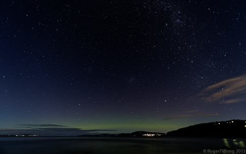 20130519-11-Aurora Australis from Taroona Beach
