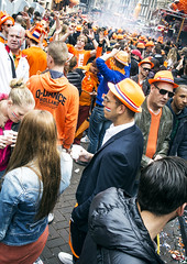 (a.rey) Tags: netherlands amsterdam nederland coronation queensday koninginnedag