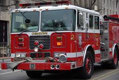 Washington, D.C. (Graham Buffton) Tags: truck fire dc washington chinatown pentax k10d pentaxk10d