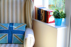 Reading Corner (hellololla) Tags: home books sofa decor unionflag cushion