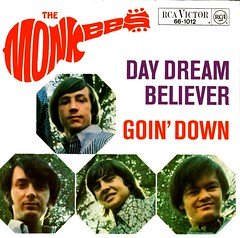 Monkees, The - Day Dream Believer - Cover only - D - 1967 (Affendaddy) Tags: germany 1967 rca themonkees telefunken goindown daydreambeliever vinylsingles 1960susbeat