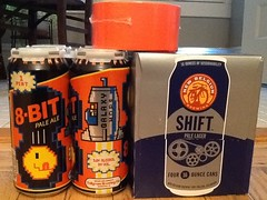 wizarding supplies (kidmissile) Tags: orange game beer duct drink wizard drinking ale tape wise 8bit idiots wisest