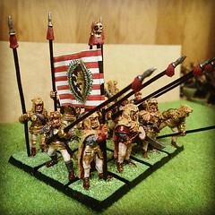 Leopolds Leopard Company (Akomachi) Tags: warhammer mercenary pikemen warhammerfantasy